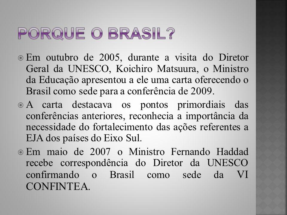 Porque o Brasil