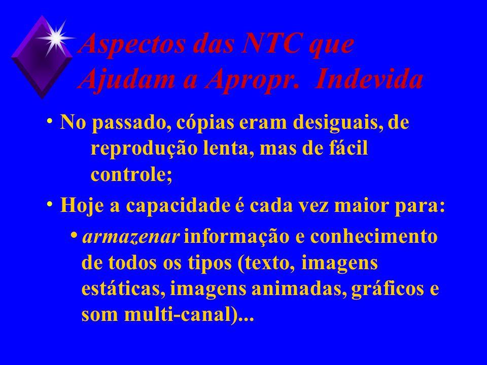 Aspectos das NTC que Ajudam a Apropr. Indevida