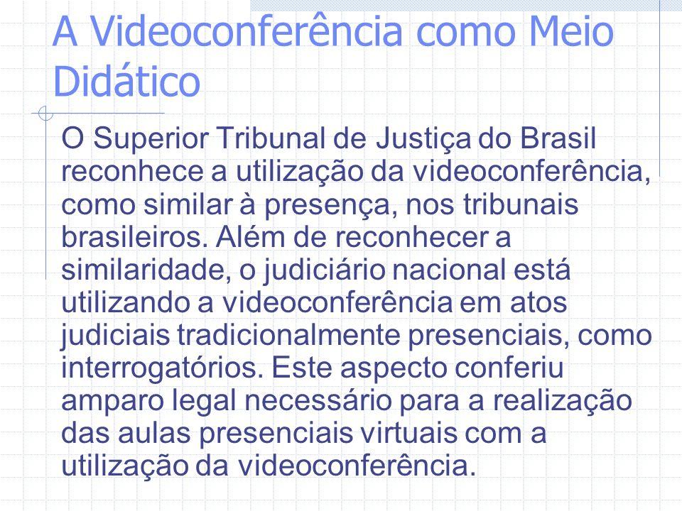 A Videoconferência como Meio Didático