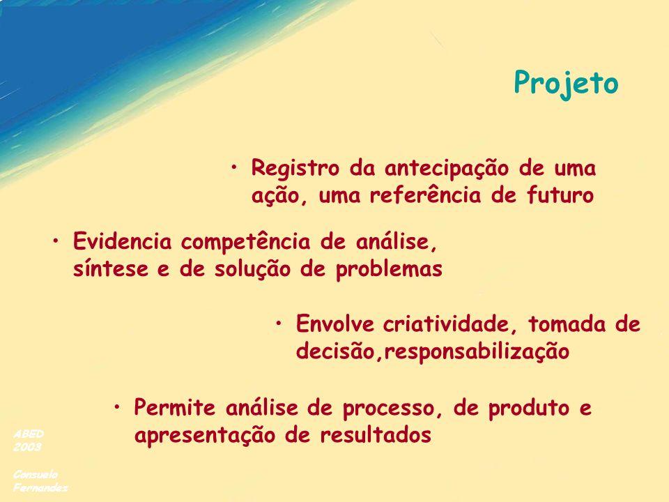 Projeto Registro da antecipação de uma ação, uma referência de futuro