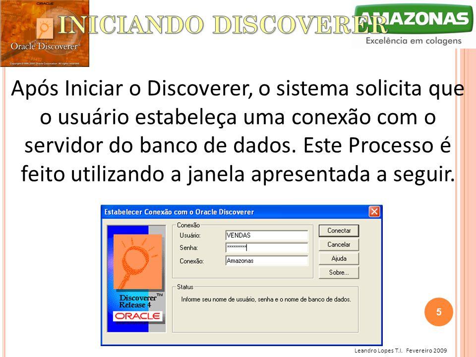 INICIANDO DISCOVERER
