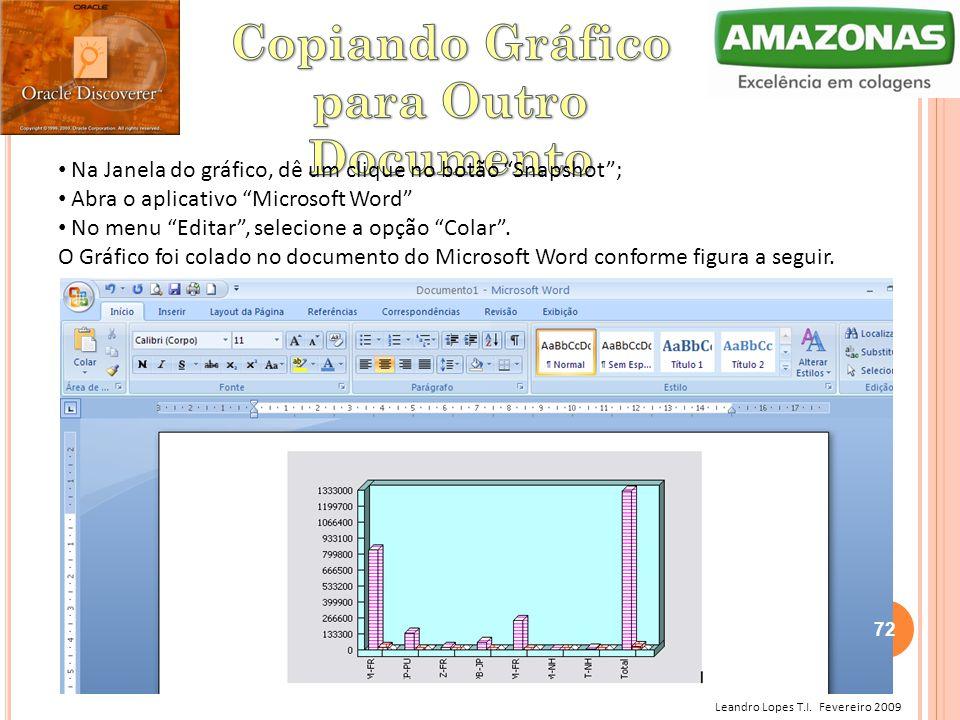 Copiando Gráfico para Outro Documento