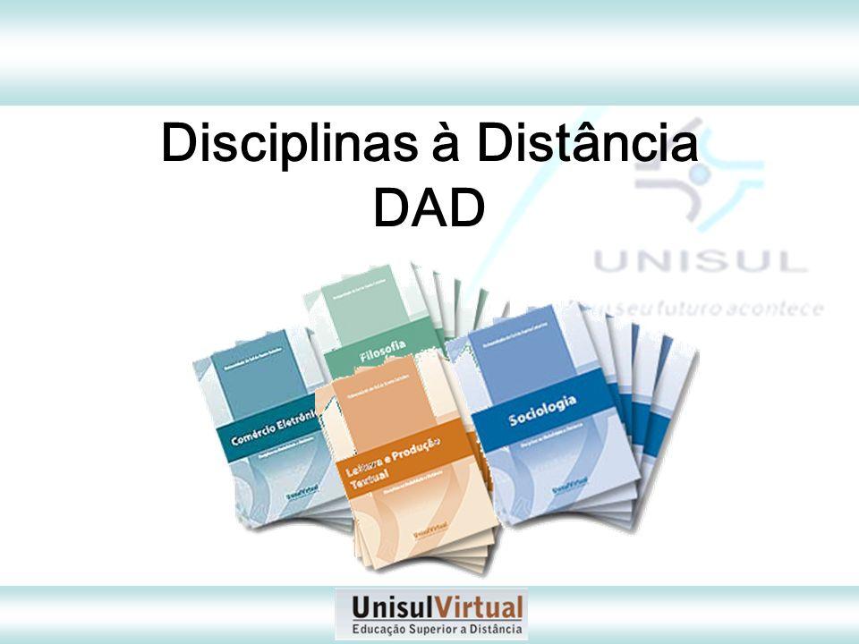 Disciplinas à Distância DAD