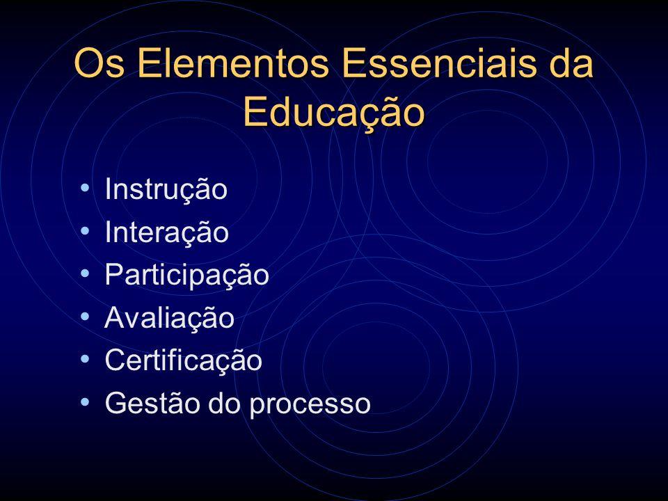 Os Elementos Essenciais da Educação