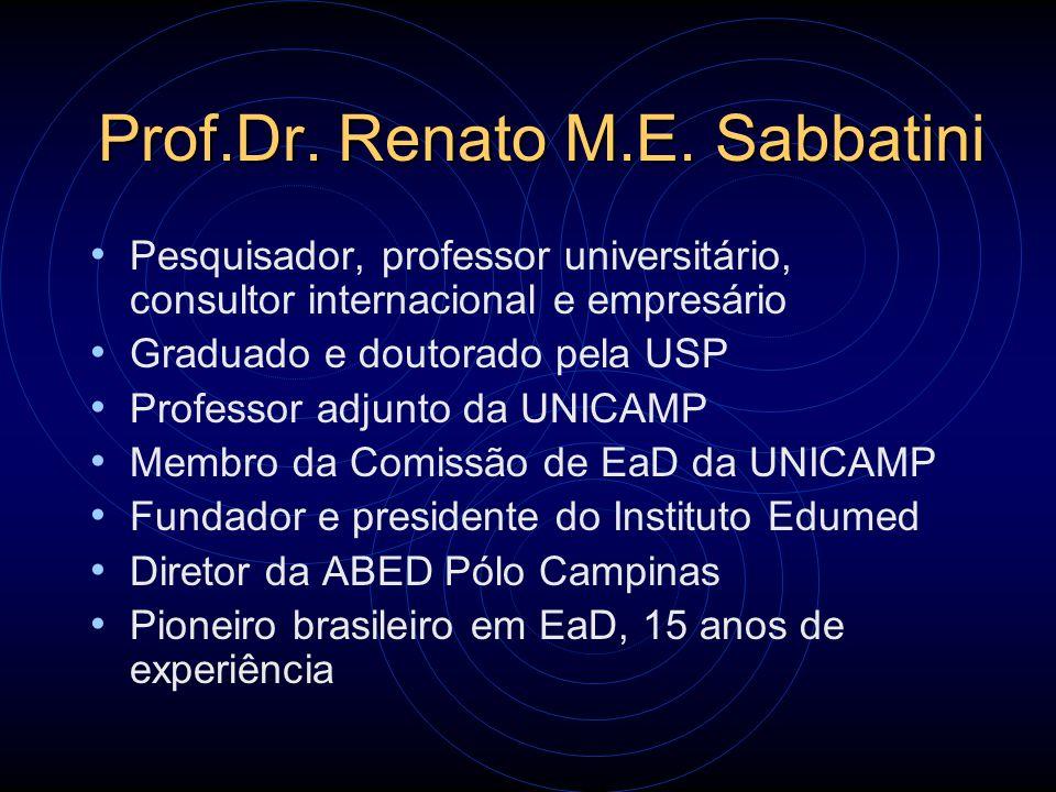 Prof.Dr. Renato M.E. Sabbatini