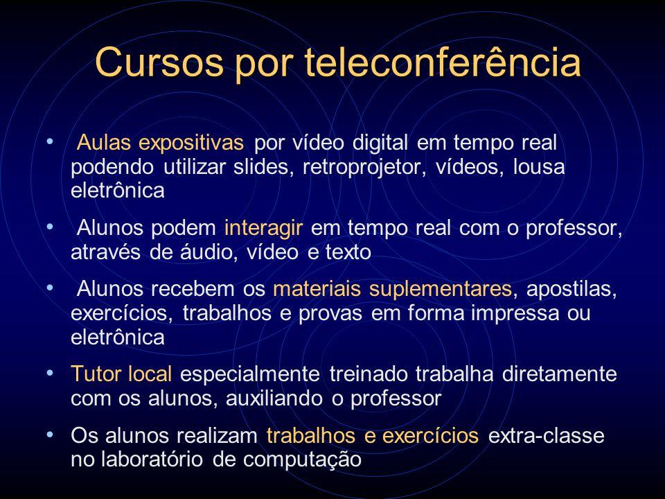 Cursos por teleconferência