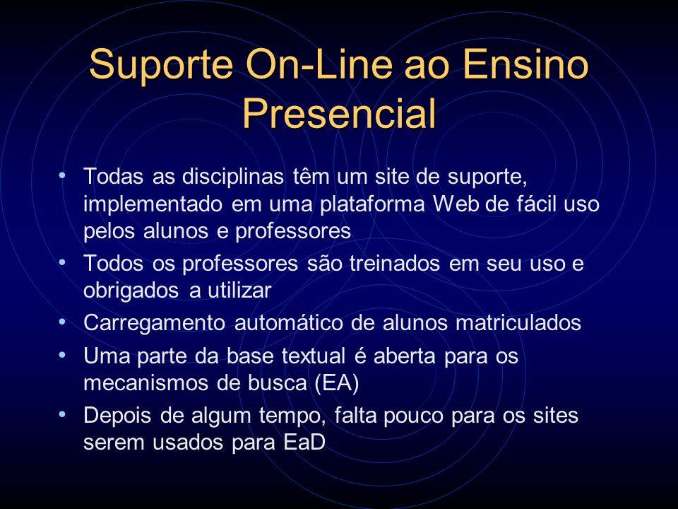 Suporte On-Line ao Ensino Presencial