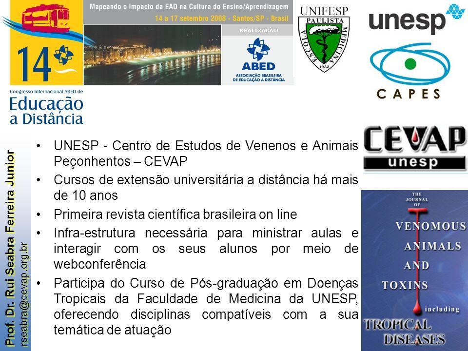 UNESP - Centro de Estudos de Venenos e Animais Peçonhentos – CEVAP