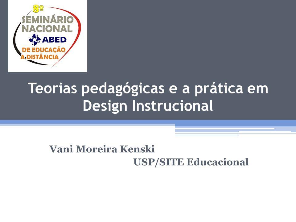 Teorias pedagógicas e a prática em Design Instrucional