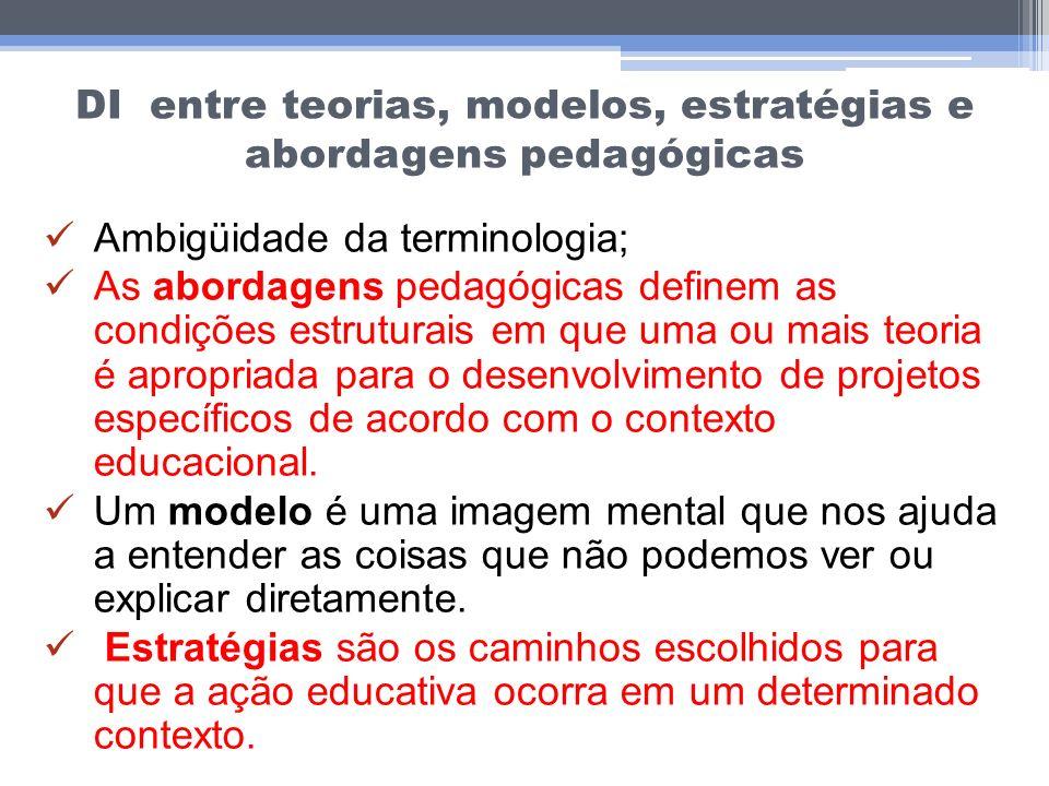 DI entre teorias, modelos, estratégias e abordagens pedagógicas