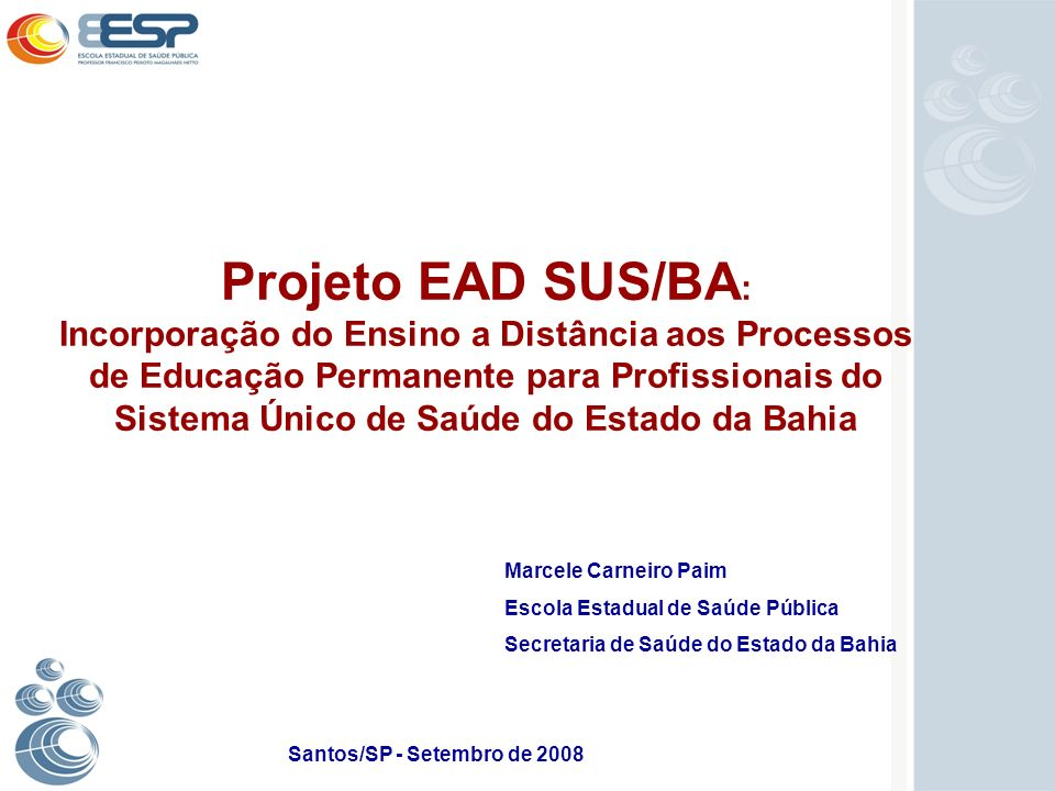 Santos/SP - Setembro de 2008