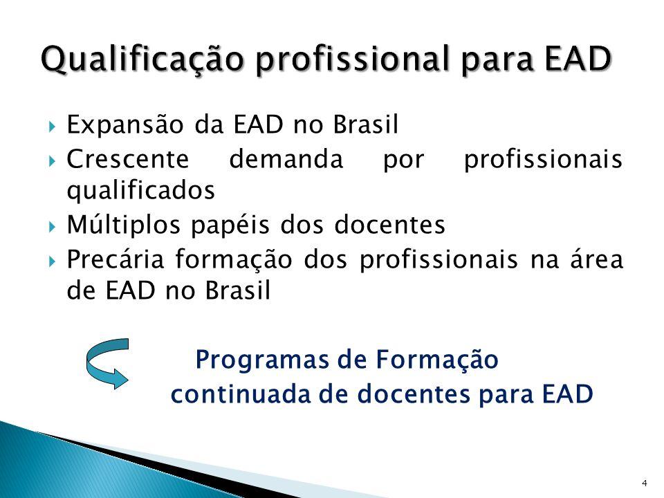 Qualificação profissional para EAD