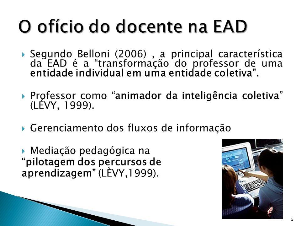 O ofício do docente na EAD