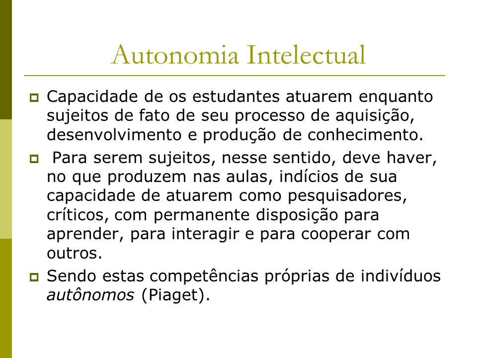 Autonomia Intelectual
