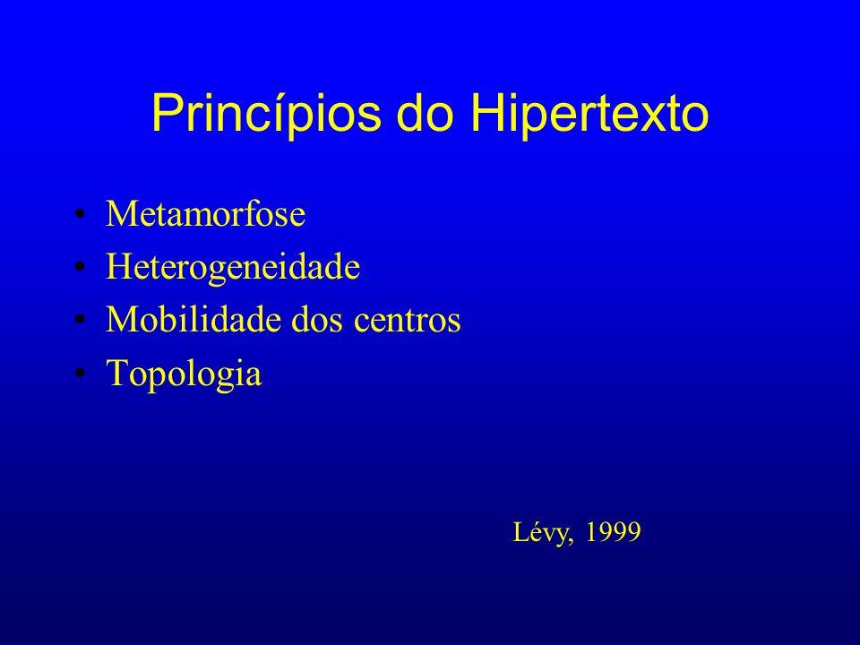 Princípios do Hipertexto