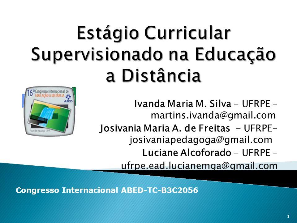 Estágio Curricular Supervisionado na Educação a Distância