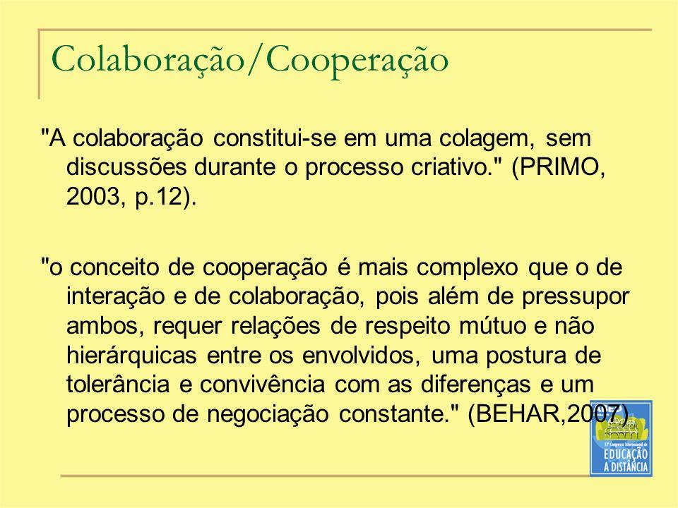 Colaboração/Cooperação