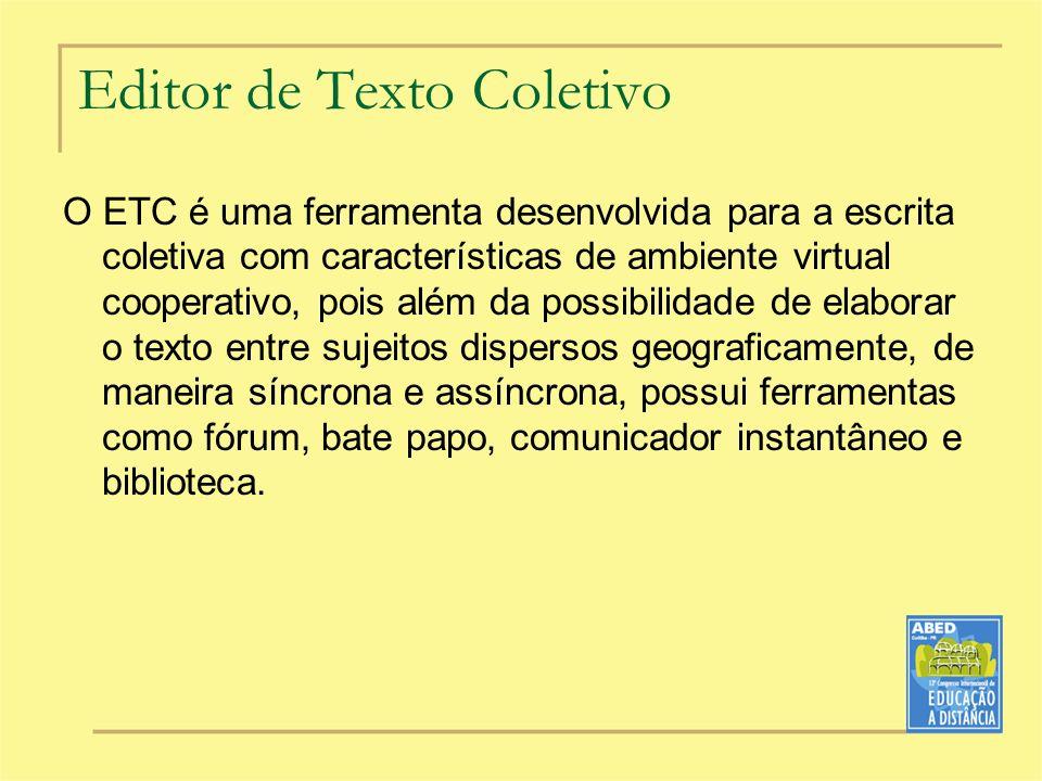 Editor de Texto Coletivo