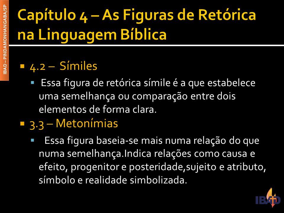Capítulo 4 – As Figuras de Retórica na Linguagem Bíblica