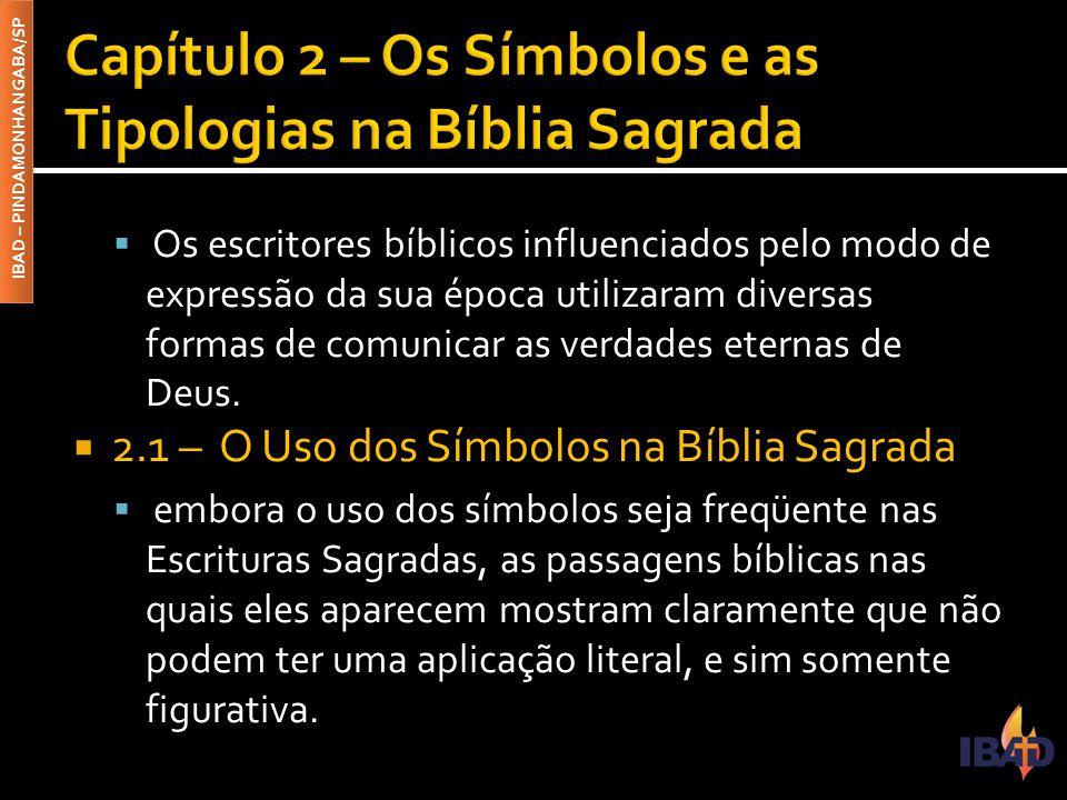 Capítulo 2 – Os Símbolos e as Tipologias na Bíblia Sagrada