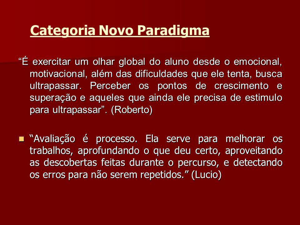 Categoria Novo Paradigma