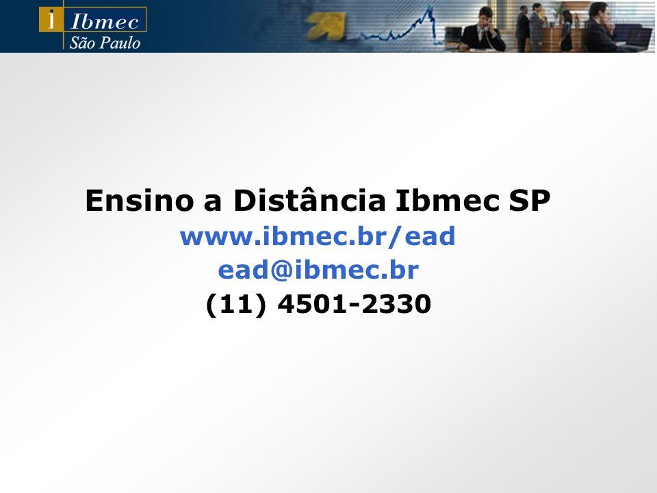 Ensino a Distância Ibmec SP