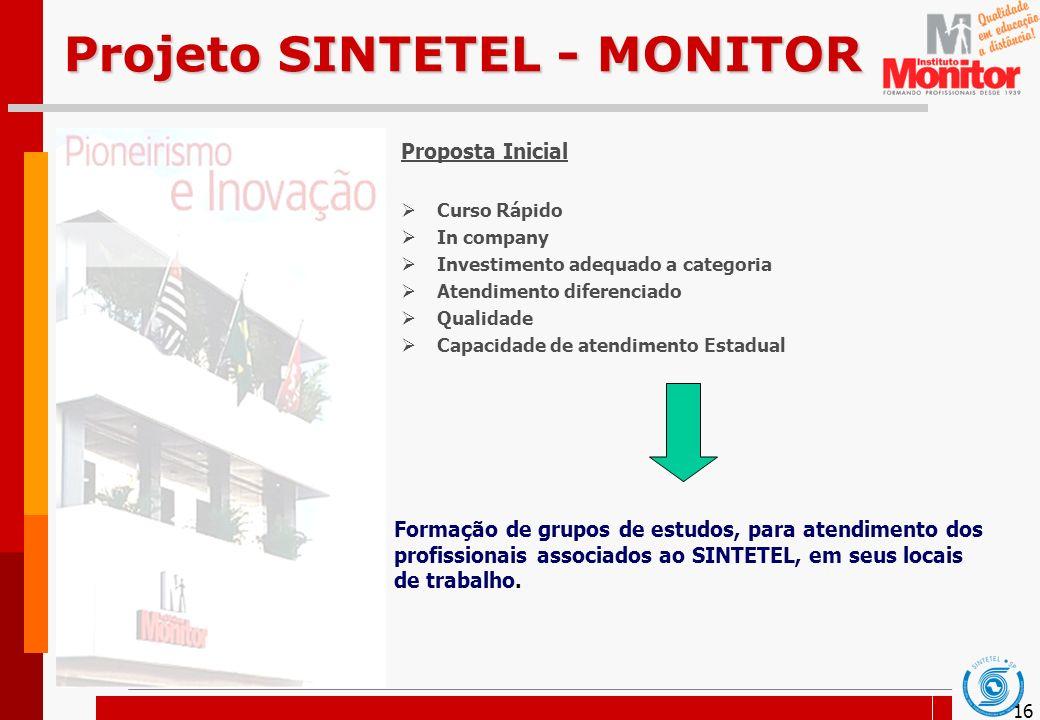 Projeto SINTETEL - MONITOR