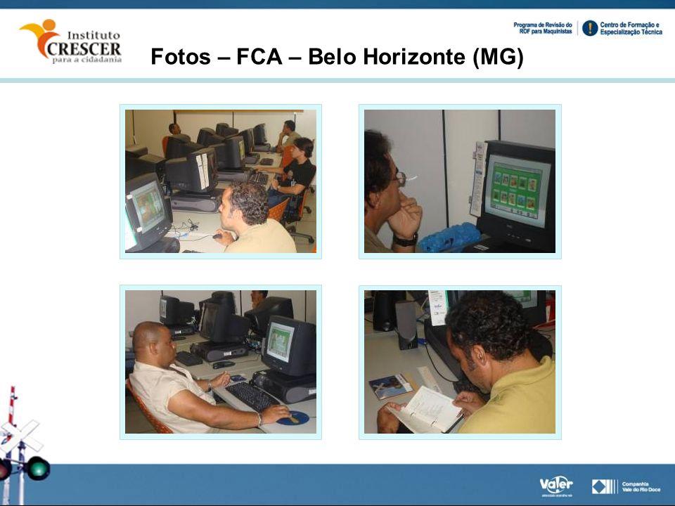 Fotos – FCA – Belo Horizonte (MG)