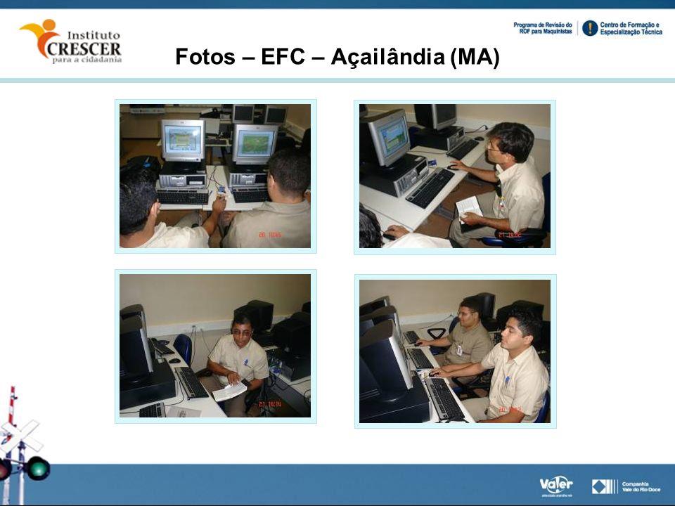 Fotos – EFC – Açailândia (MA)