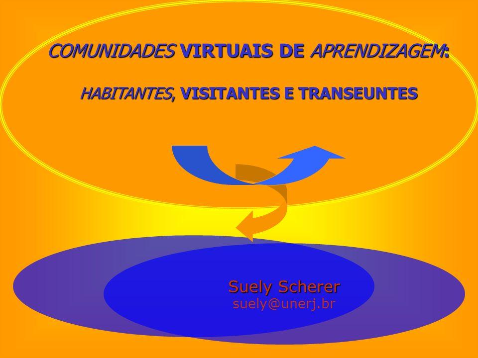 COMUNIDADES VIRTUAIS DE APRENDIZAGEM: