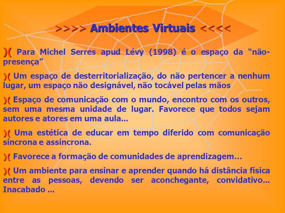 >>>> Ambientes Virtuais <<<<