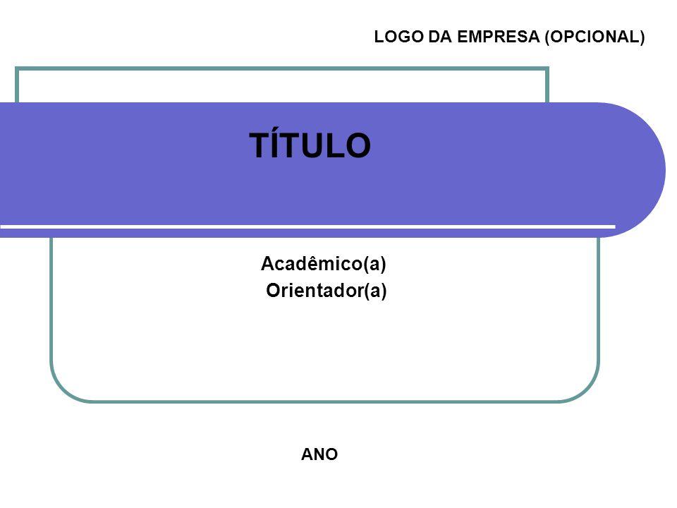 LOGO DA EMPRESA (OPCIONAL)