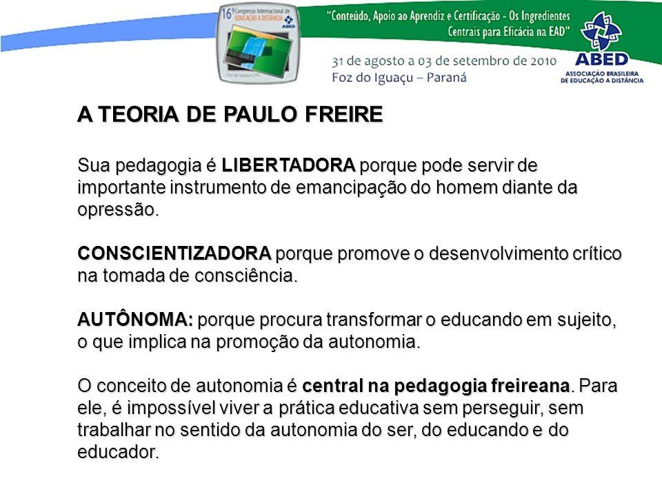 A TEORIA DE PAULO FREIRE