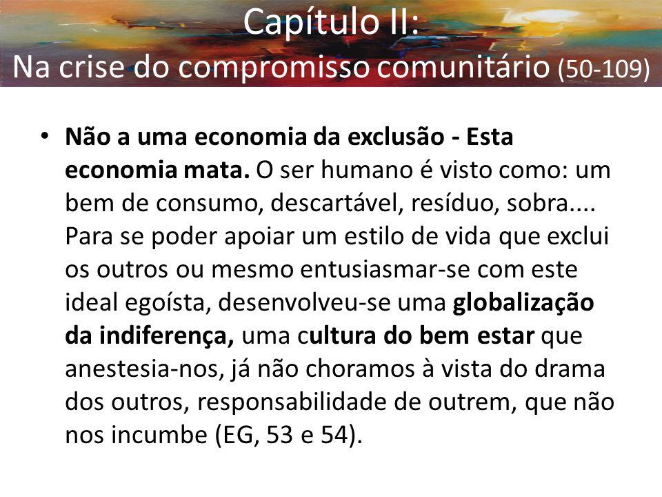 Capítulo II: Na crise do compromisso comunitário (50-109)