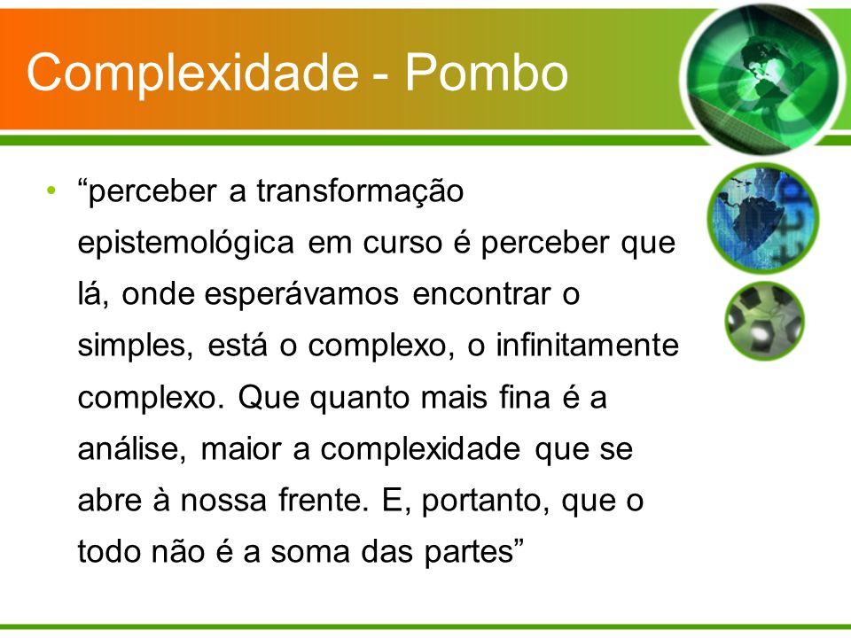 Complexidade - Pombo