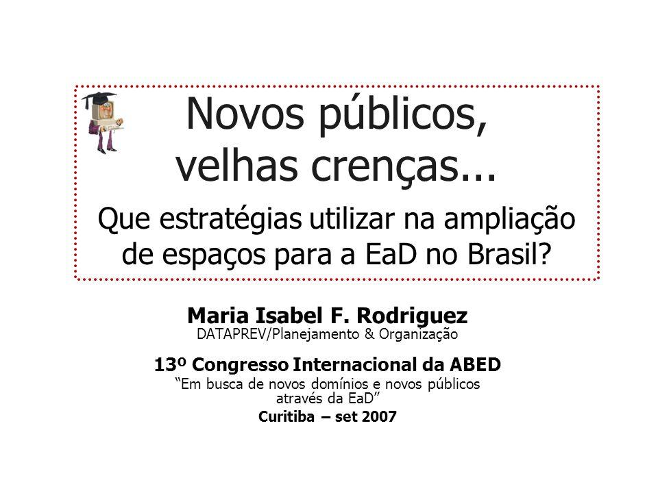 13º Congresso Internacional da ABED