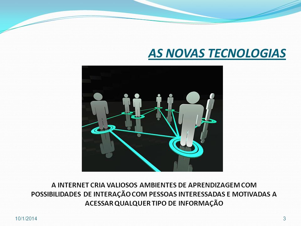 AS NOVAS TECNOLOGIAS
