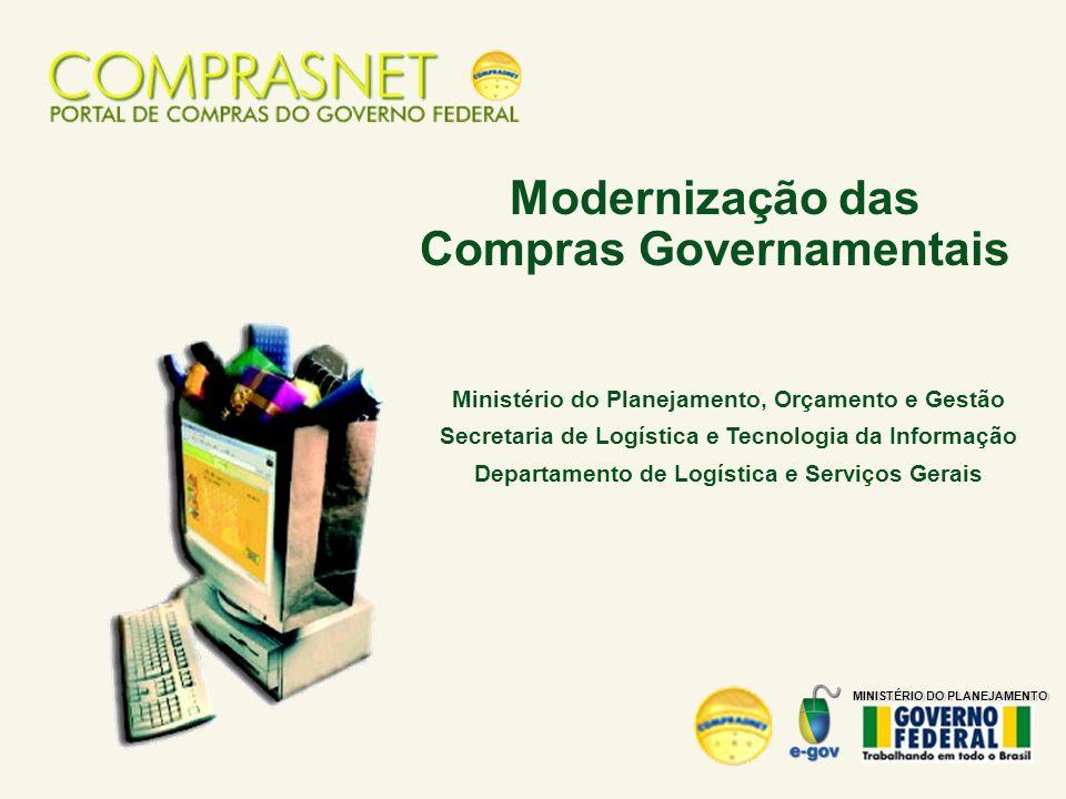 Modernização das Compras Governamentais