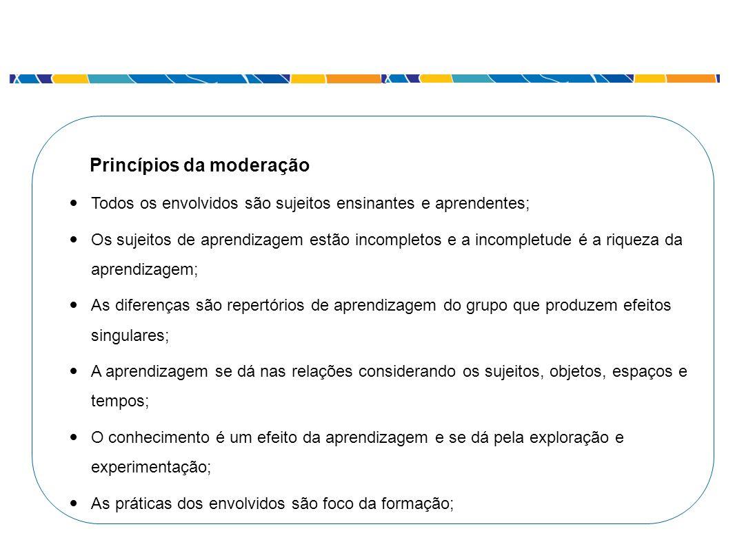 Princípios da moderação