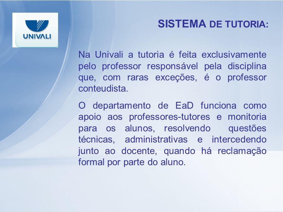 SISTEMA DE TUTORIA: