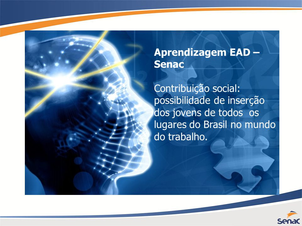Aprendizagem EAD – Senac