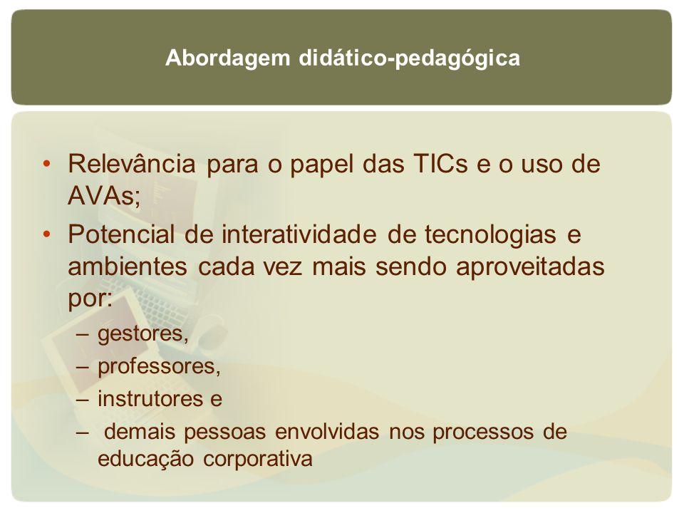 Abordagem didático-pedagógica