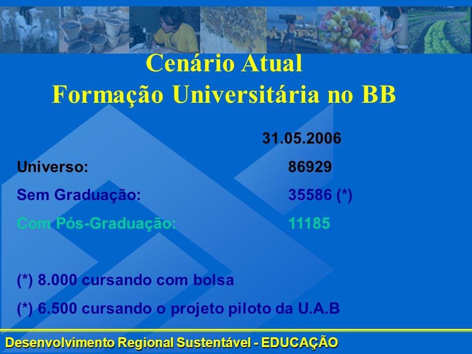 Formação Universitária no BB