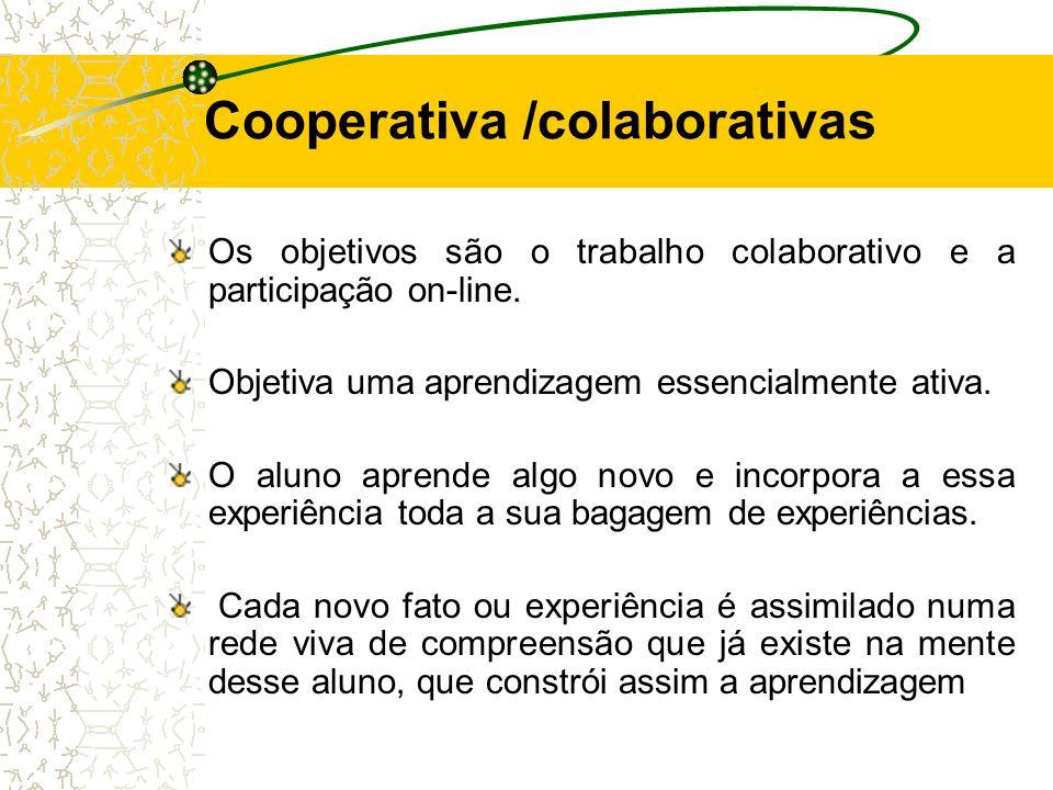 Cooperativa /colaborativas
