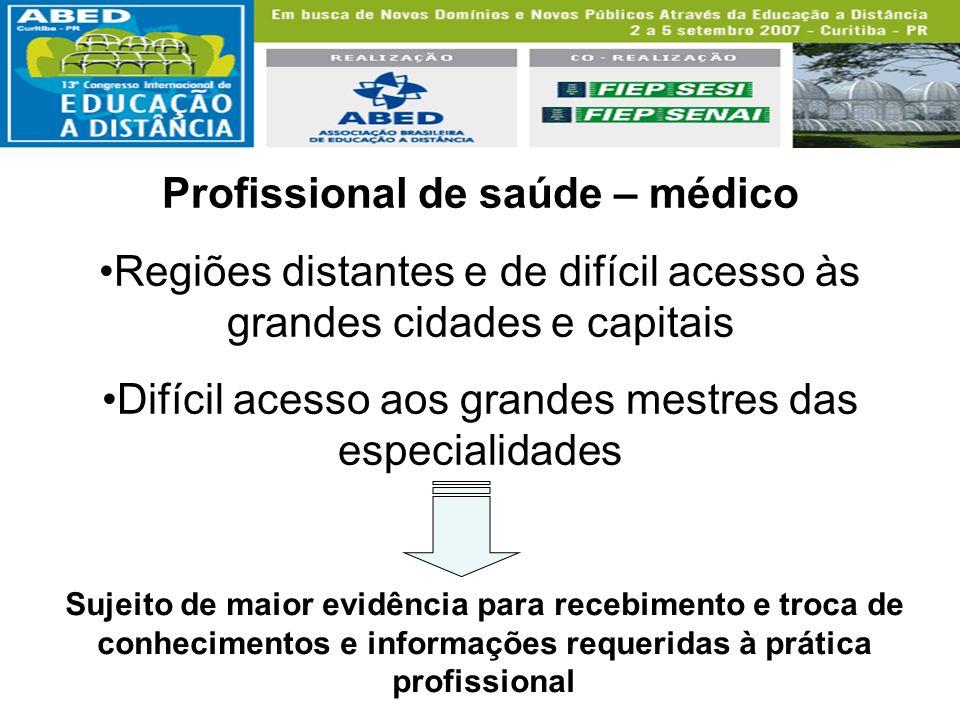 Profissional de saúde – médico