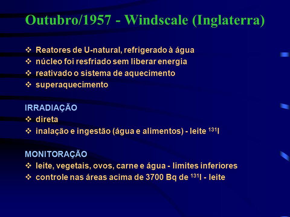 Outubro/1957 - Windscale (Inglaterra)