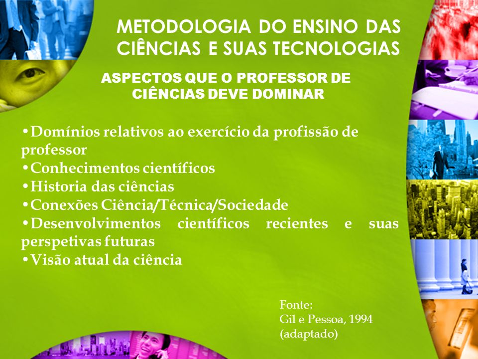 ASPECTOS QUE O PROFESSOR DE