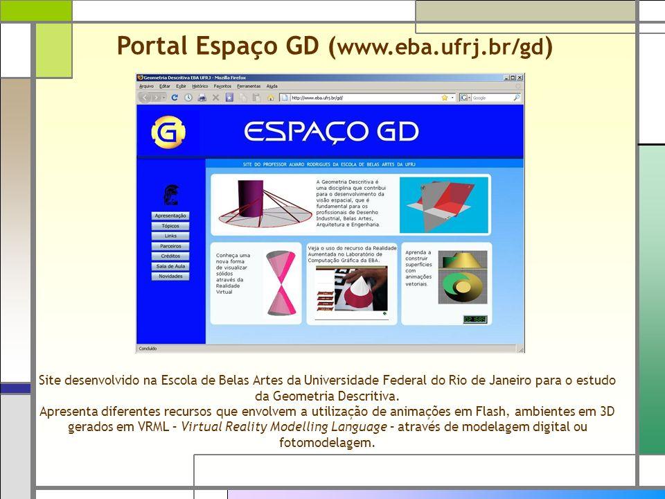 Portal Espaço GD (www.eba.ufrj.br/gd)