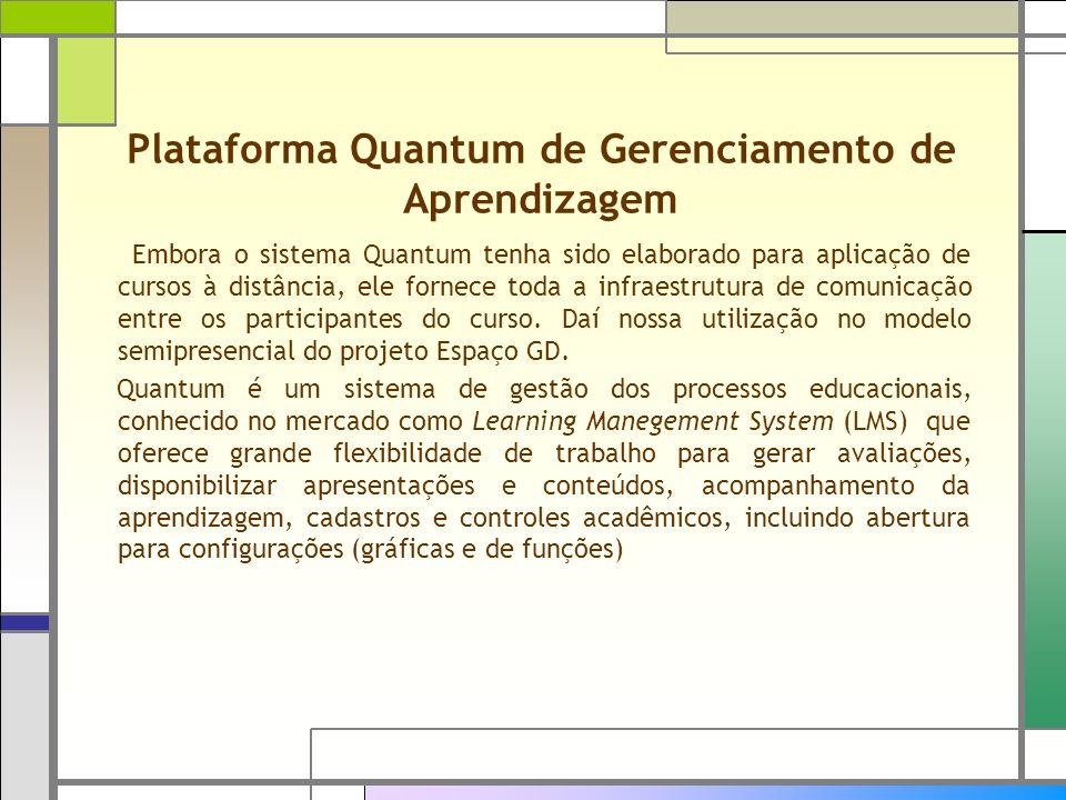 Plataforma Quantum de Gerenciamento de Aprendizagem