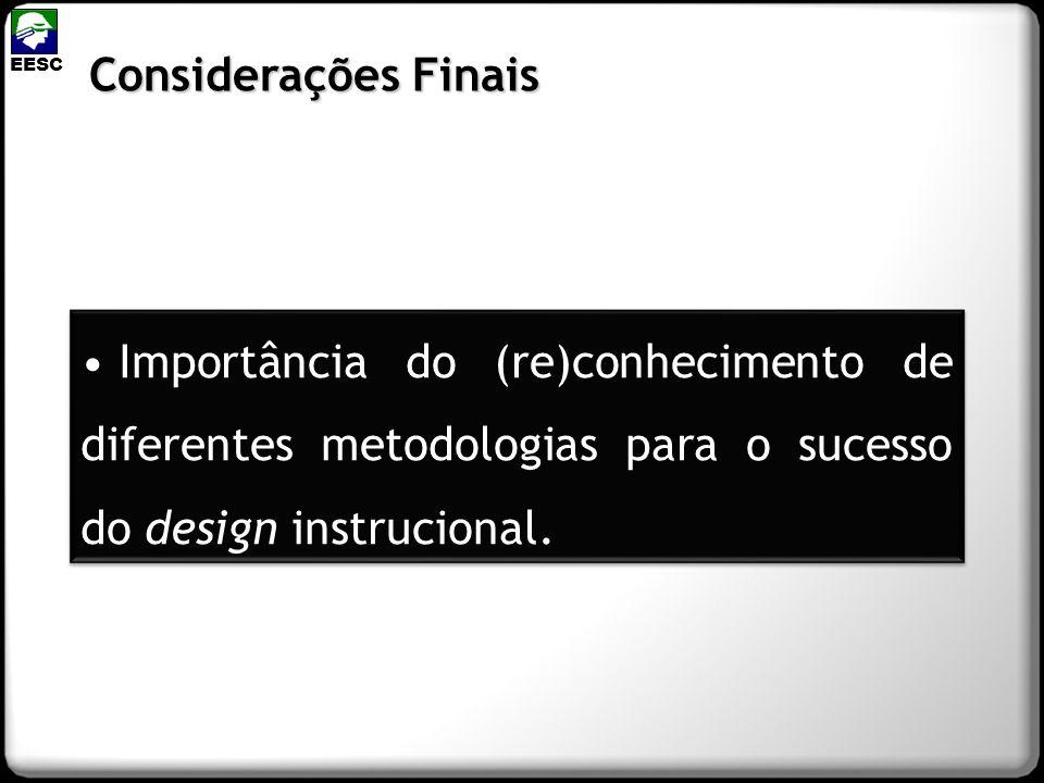 EESC Considerações Finais.